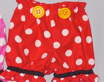 Mickey Inspired Bloomers