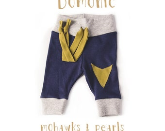 The Domonic.  Hipster baby pants, baby leggings  Nb-24mo