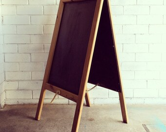 Chalkboard from recycled wood