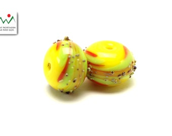 Glass Beads,Lampwork Beads,Hand Made Beads,Lampwork Glass,ETS1042