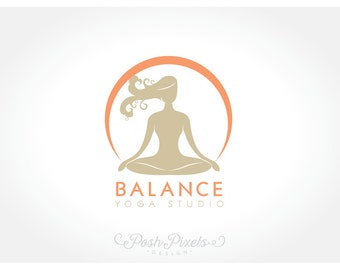 Logo Design (Premade) Meditation logo, Yoga logo, Business logo