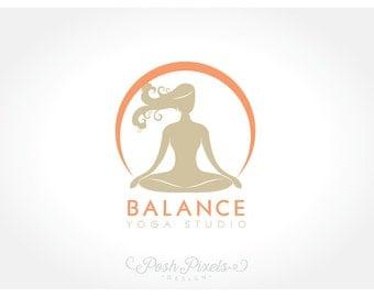 Yoga logo | Etsy