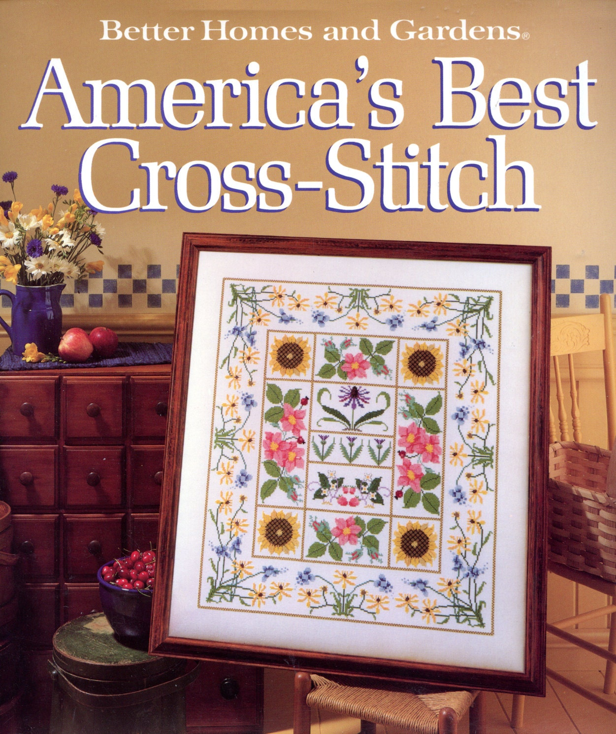 Better homes and gardens america 39 s best cross stitch for Americas best homes