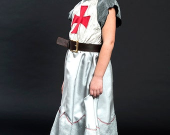 princess, medieval princess costume for girls, costume for girls, Maid Marian, Joan of Arc