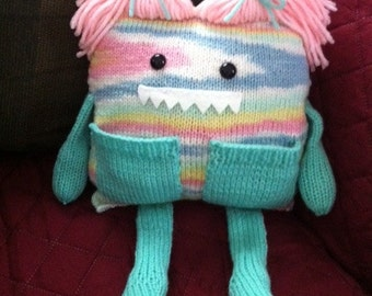 Girl Monster, Knitted
