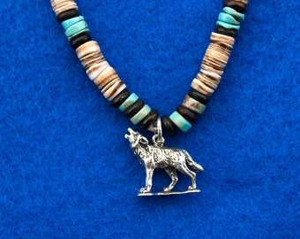 Sterling Silver Wolf