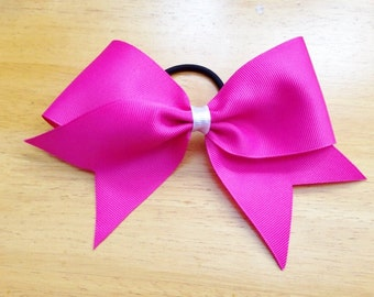 Texas Sized Cheer Hair Bow - 3 inch Cheer Hair Bow - Oversized Cheer Hairbow
