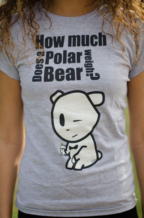 How much does a polar bear weigh tinder