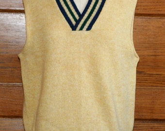 Robert Bruce Gatsby Wool Sweater Vest