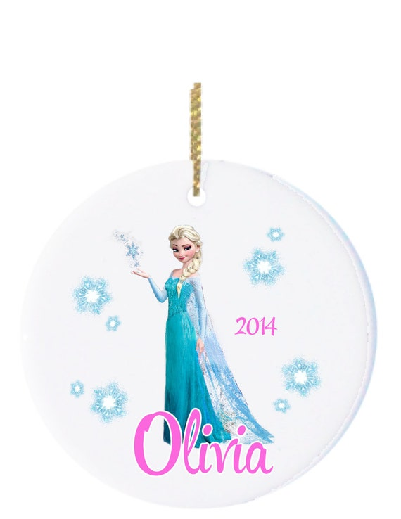 Personalized christmas ornament kids ornament for Customized photo christmas ornaments