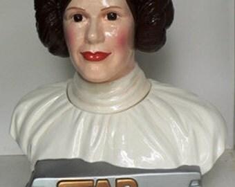 Princess Leia Cookie Jar