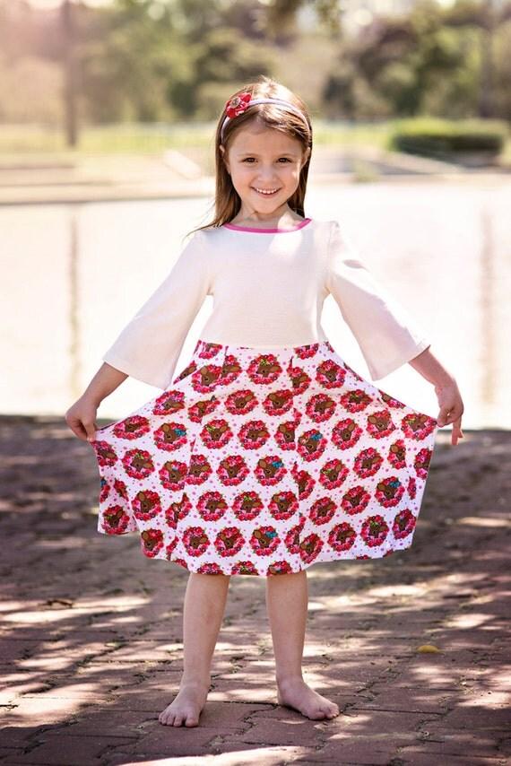 أزياء الاطفال الفساتين المريحة بالنسبة للفتيات. بوابة 2014,2015 il_570xN.675904337_m