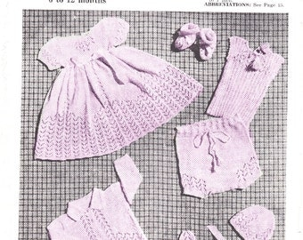 Baby shower gifts baby girl clothes knitting patterns girls dress christmas gift baby girl  new baby gift pdf pattern newborn bonnet