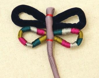 Libella - dragonfly brooch