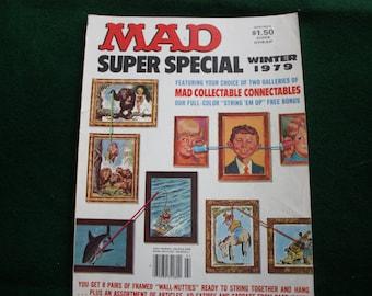 Vintage Mad Magazine - Mad Super Special Winter 1979
