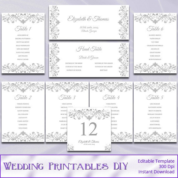 Wedding Reception Seating Chart Template Word Se Volete Conoscere – Wedding Seating Chart Template Word