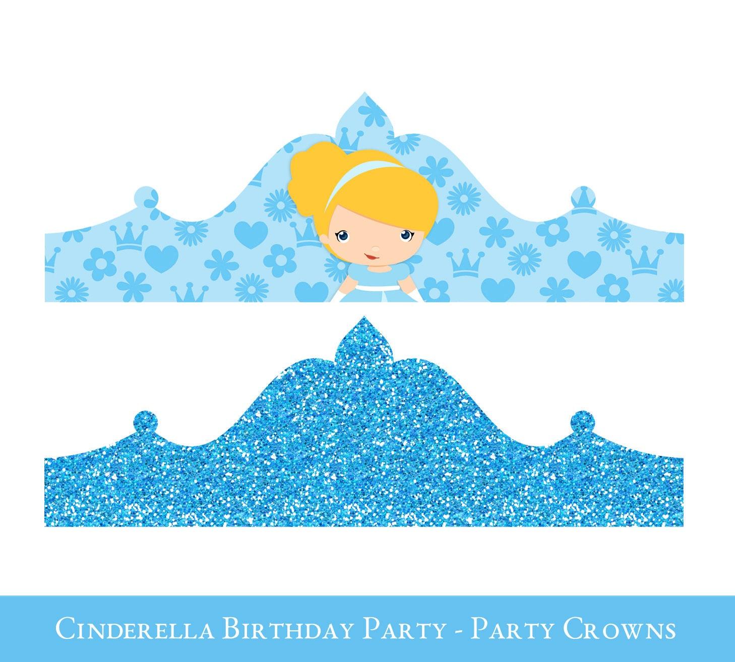 ... Princess Crowns Printable Popular items for cinderella crown on etsy