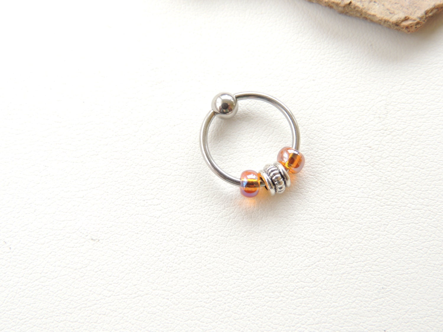 captive bead earrings 16 captive bead ring cartilage earring ear 8285