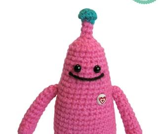Crochet Pattern - Alien Amigurumi