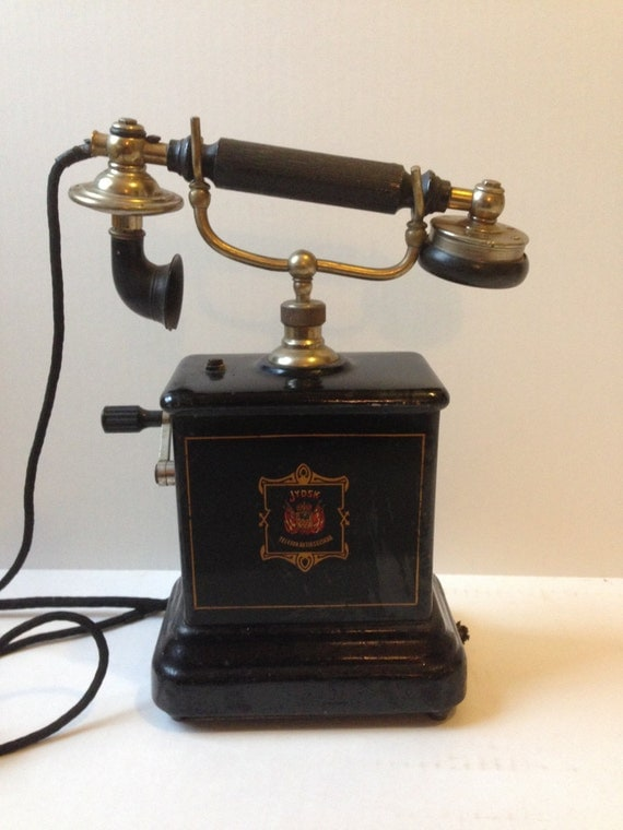 1895 european antique table top hand crank by