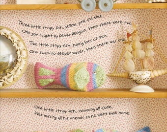Three Little Fish Toy Knitting Pattern Download (803756)