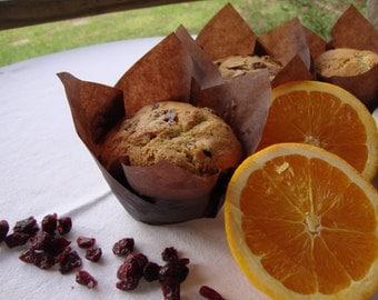 Cranberry Orange Muffins (6 Jumbo or 24 Mini)