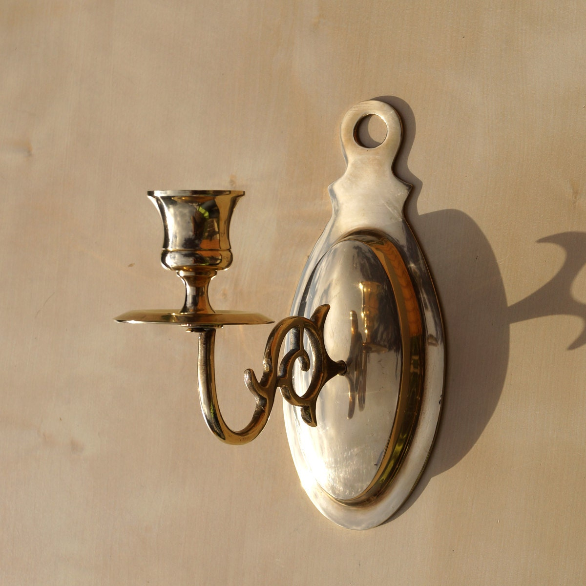 Brass Wall Candle Holder Wall Decor Table Deccor