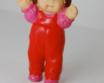 Cabbage Patch Kids Miniature Girl Figurine 1984