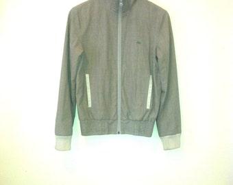 checked nike zip-up bomber jacket/coat