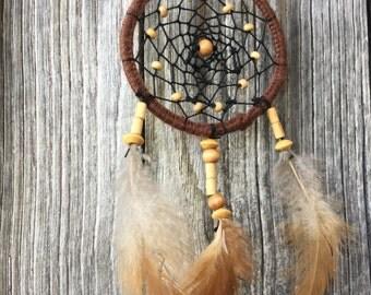 Dream catcher handmade 7cm in diameter-2,7 inch
