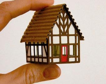 Putz houses  Etsy