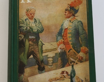Kidnapped by Robert Louis Stevenson - The John C. Winston Company 1925 - Vintage Book