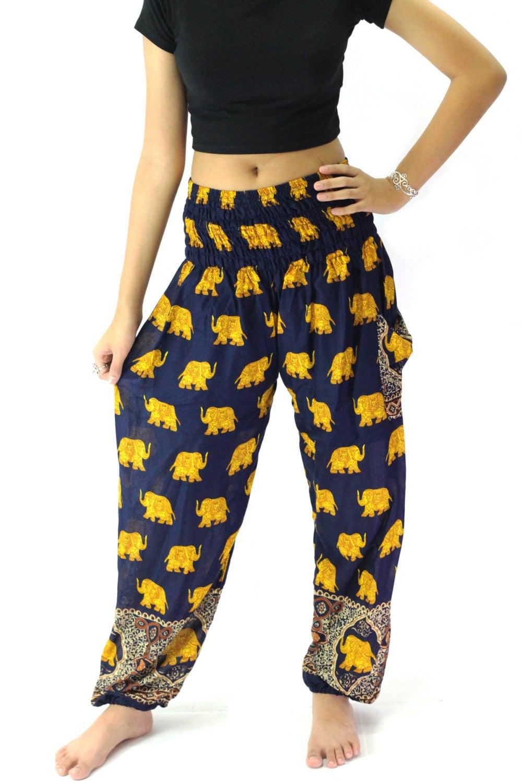 Creative  Elephant Pants Harem Pants Women High Cut Harem Pants Elephant Pants