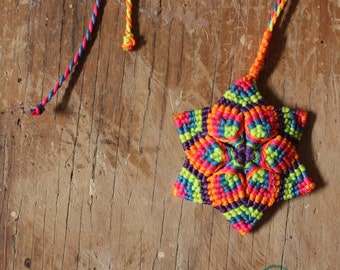 micro-macrame tutorial mandala macrame en video