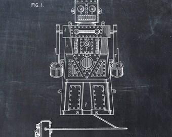 Toy Robot Patent Print