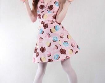 Pink cupcake dress.