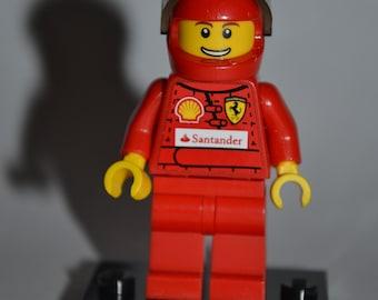CUSTOM Lego Ferrari Racing Driver