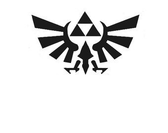 Triforce Decal