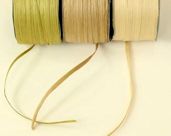 Paper Raffia Ribbon {12 colours}