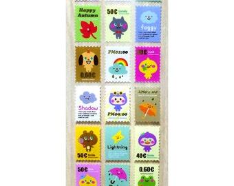 Sticker Stamps Weather