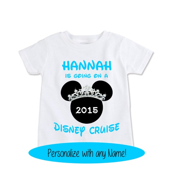 Girls Gift T Shirt Going On A Disney Cruise Kids Gift By