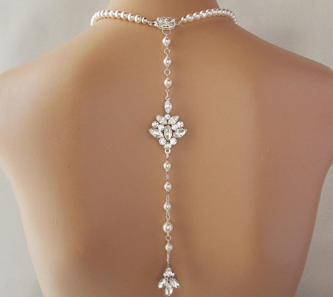 Backdrop Necklace Wedd...