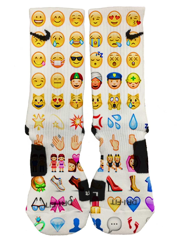 emoji socks - photo #15