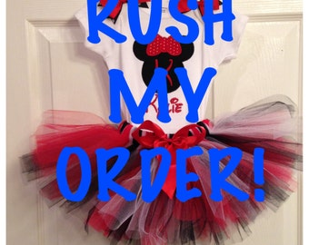 RUSH MY ORDER!!!!! Order ships out in 24 hours