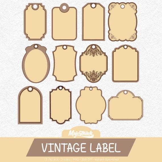 tags etiquette clipart tiquette vintage avec tiquette. Black Bedroom Furniture Sets. Home Design Ideas