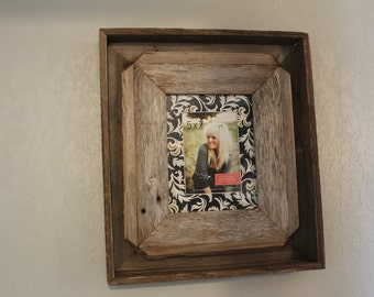 Reclaimed Wood Frame, Rustic Home Decor, Wood Frame, Picture Frame, Photo Frame, Reclaimed Wood Frame, Reclaimed Wood, Frames, Frame, Wood