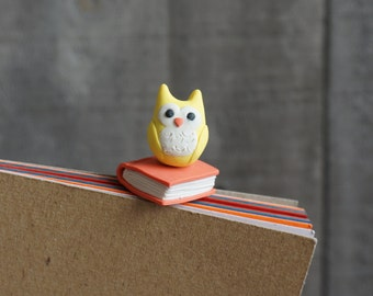 Book Owl Bookmark Paperclip