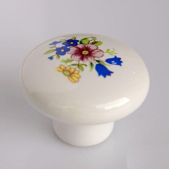 Ceramic Knobs Handle Kitchen Cabinet Knobs Pull Dresser Knobs