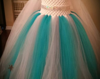 Popular items for snow queen costume on etsy - Robe reine des glaces ...