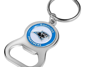Carolina Panthers Keychain Bottle Opener